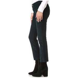 FRAME Le High Straight Cropped Corduroy Jeans! 27